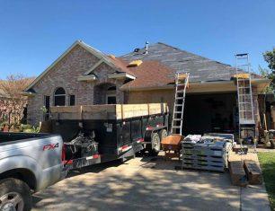 Roof repair in Corral City, Texas